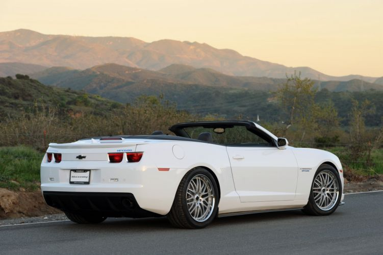 2010 Hennessey Camaro HPE600 Convertible muscle wallpaper