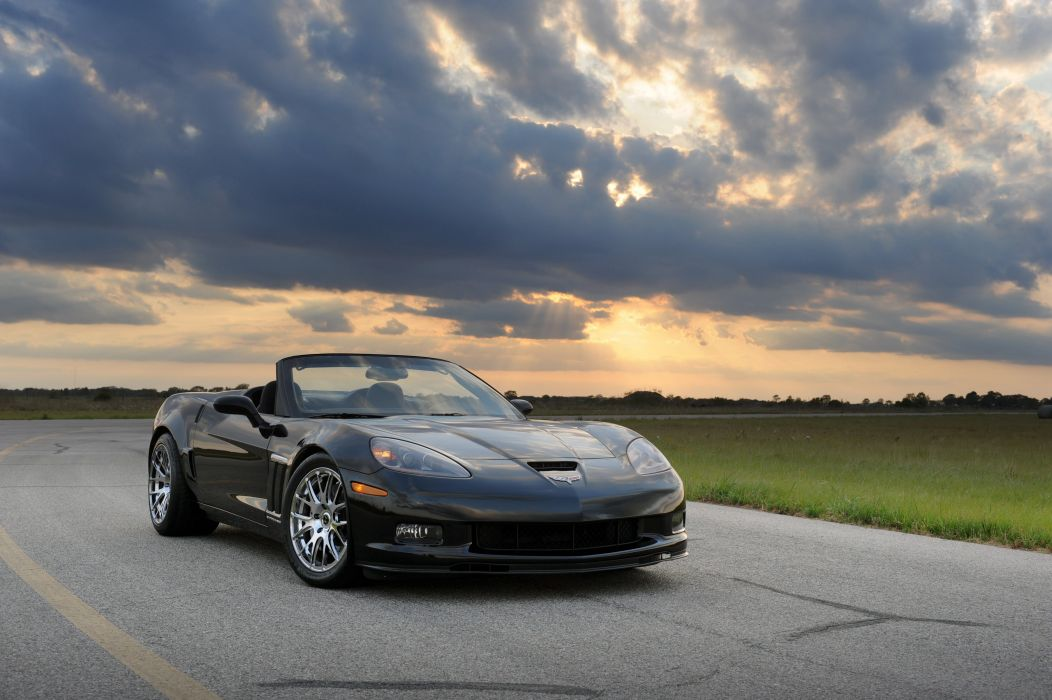 2013 Hennessey Chevrolet Corvette Grand Sport Convertible HPE700 C-6 supercar muscle wallpaper