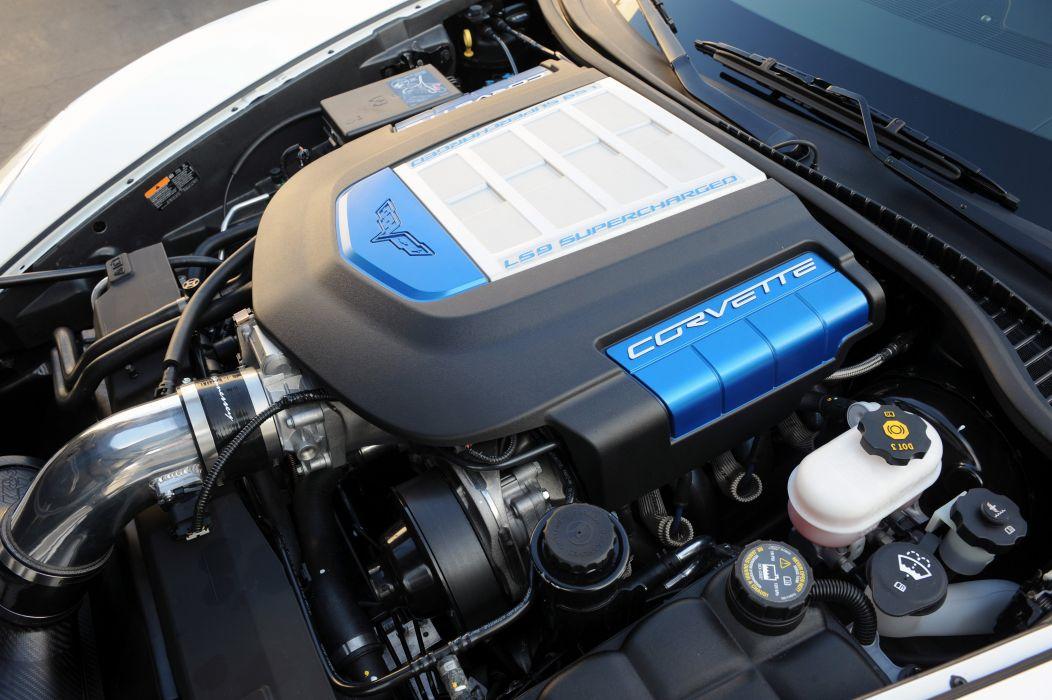 2012 Hennessey Chevrolet Corvette ZR1 ZR750 C-6 muscle supercar wallpaper