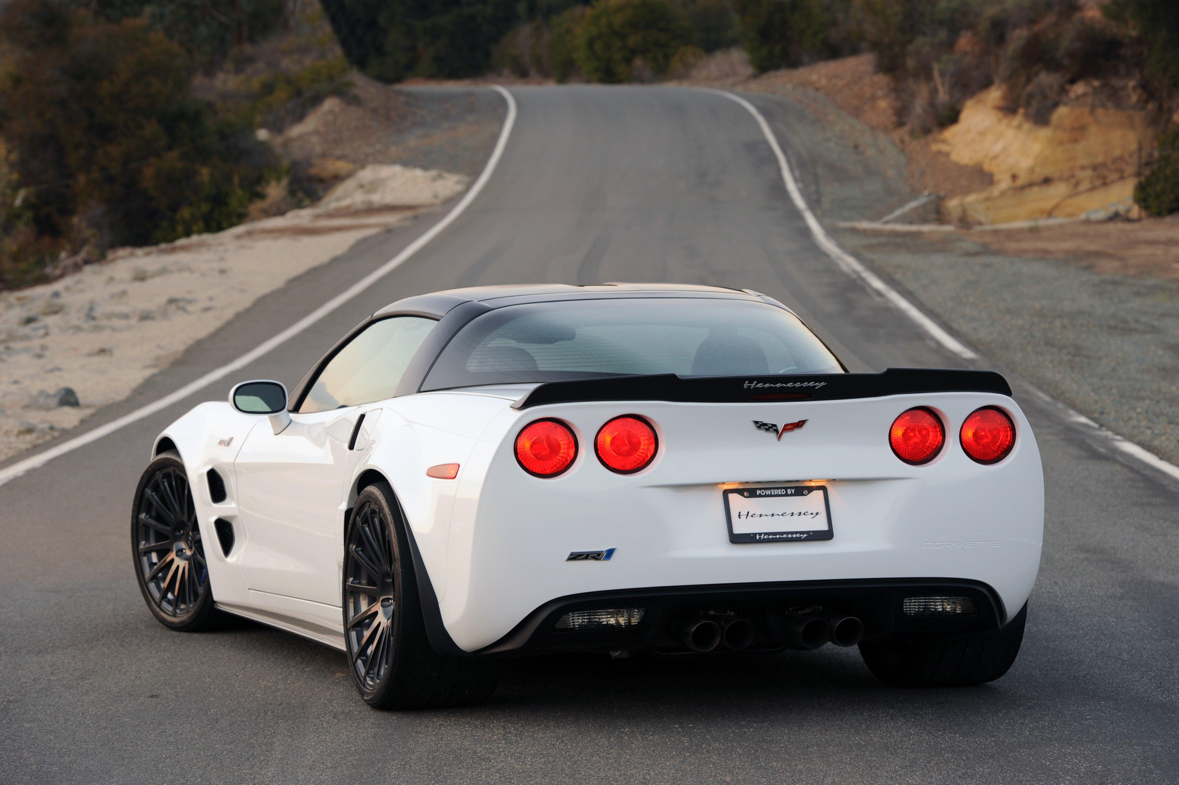 2012 Hennessey Chevrolet Corvette ZR1 ZR750 C 6 Muscle Supercar Wallpaper