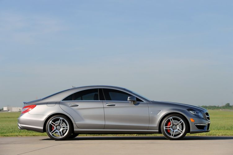 2012 Hennessey Mercedes Benz CLS63 AMG HPE700 C218 muscle wallpaper