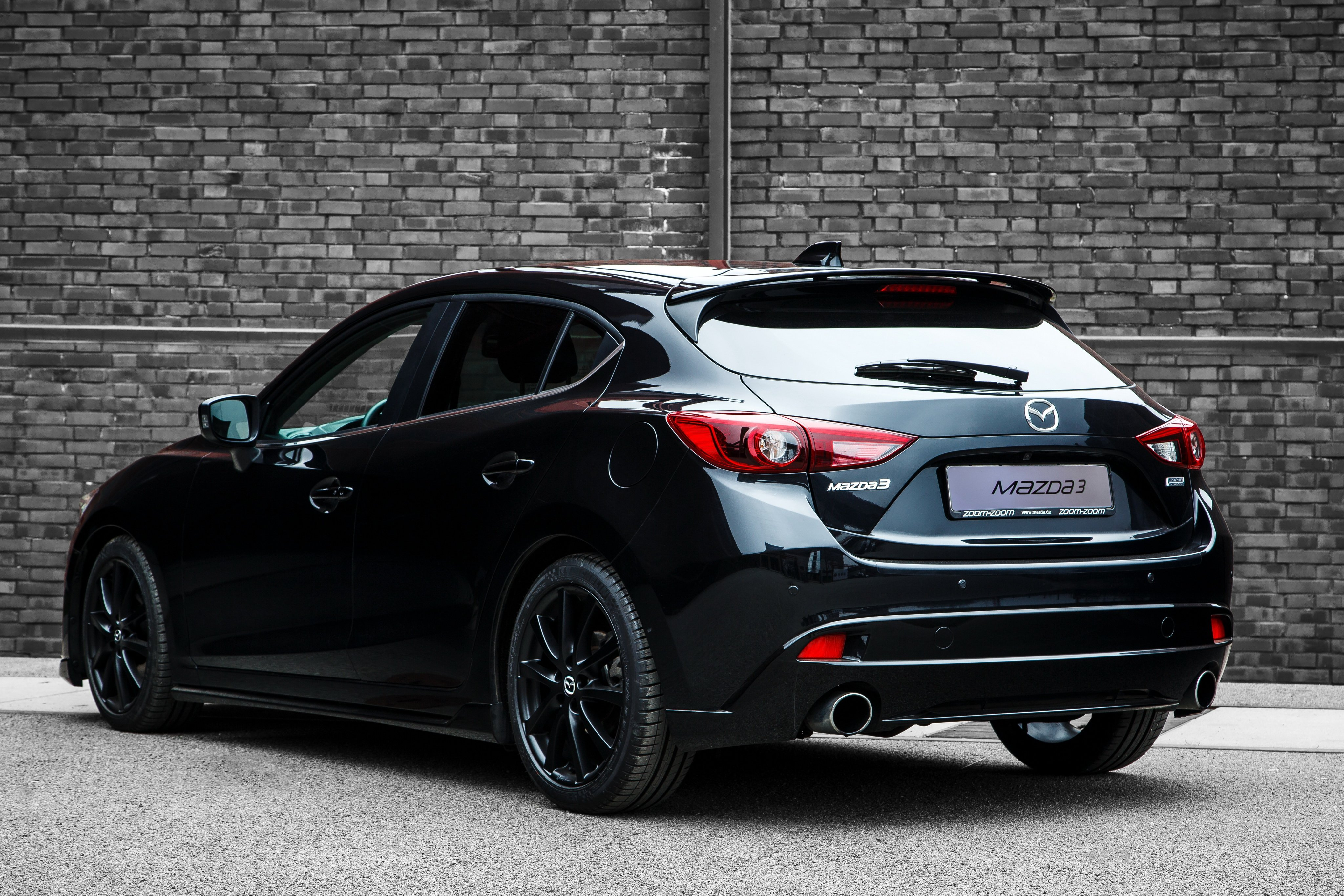 2015 Mazda3 Black Limited B M Mazda Wallpaper 4096x2731 784931