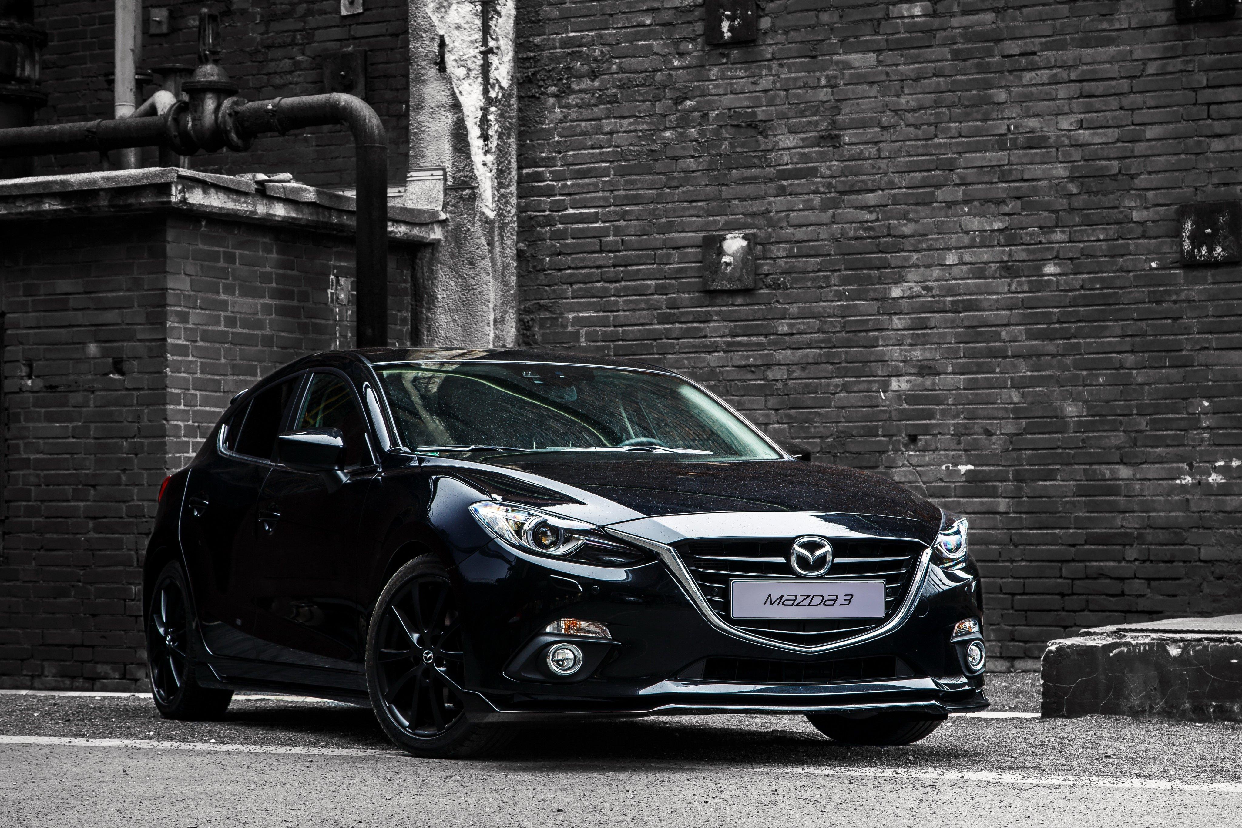 2015 Mazda3 Black Limited B-M Mazda Wallpaper