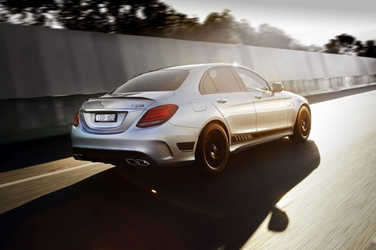 2015 Mercedes AMG C63S Edition-1 AU-spec W205 benz wallpaper