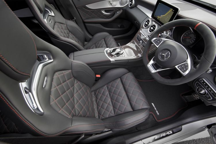 2015 Mercedes AMG C63S Edition-1 AU-spec W205 benz wallpaper