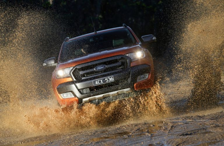 2015 Ford Ranger Wildtrak AU-spec pickup 4z4 wallpaper