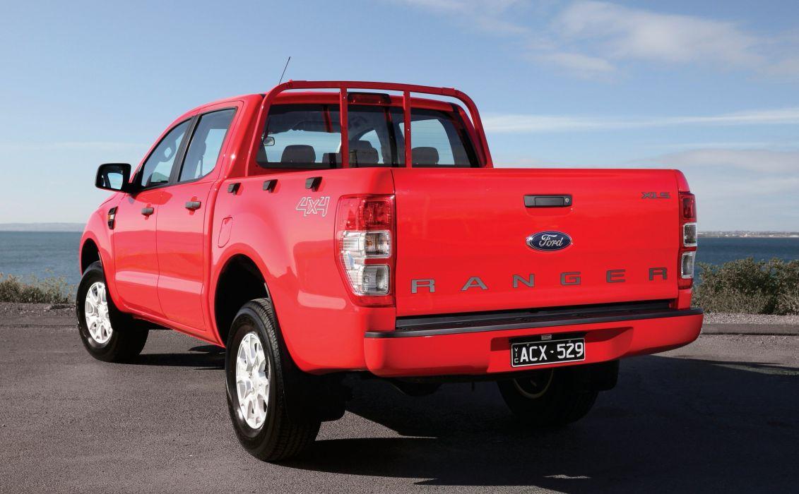 2015 Ford Ranger XLS Double Cab AU-spec pickup 4x4 wallpaper