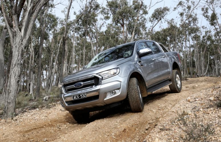 2015 Ford Ranger XLT Double Cab AU-spec pickup 4z4 wallpaper