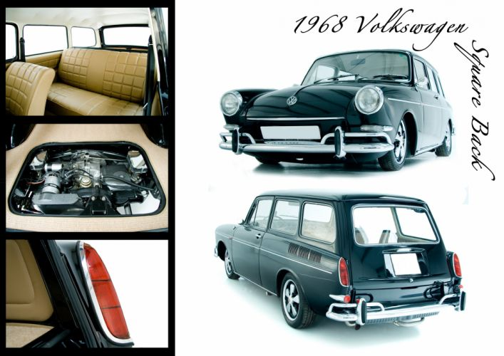 VOLKSWAGEN SQUAREBACK stationwagon volkswagon wallpaper