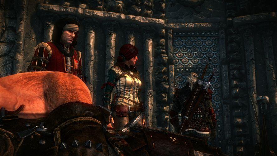 The Witcher 2 Assassins of Kings Geralt Triss Merigold Vernon Roche Letho Dead Death wallpaper