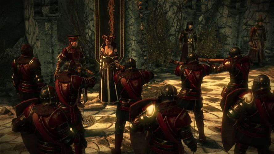 The Witcher 2 Assassins of Kings Sheala de Tancarville Order of the Flaming Rose wallpaper