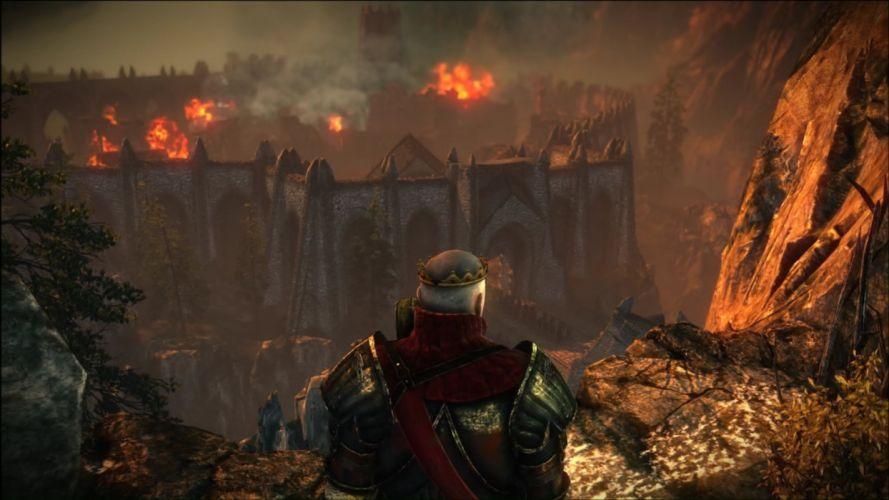 The Witcher 2 Assassins of Kings Loc Muinne Radovid V wallpaper