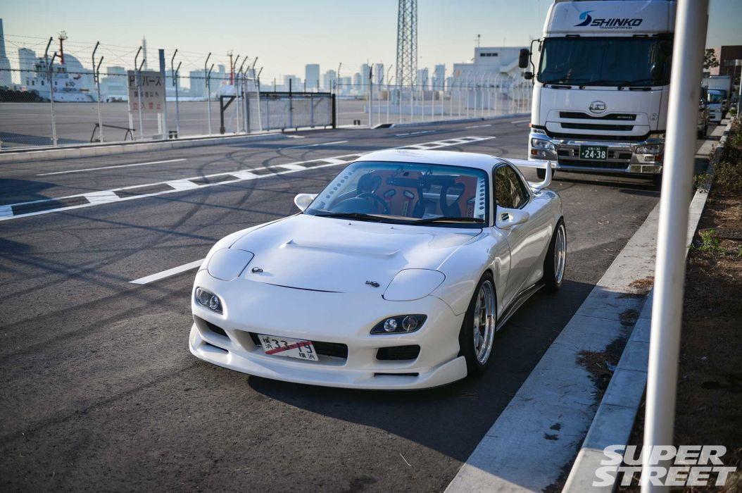 1997 Mazda RX-7 cars coupe modified wallpaper