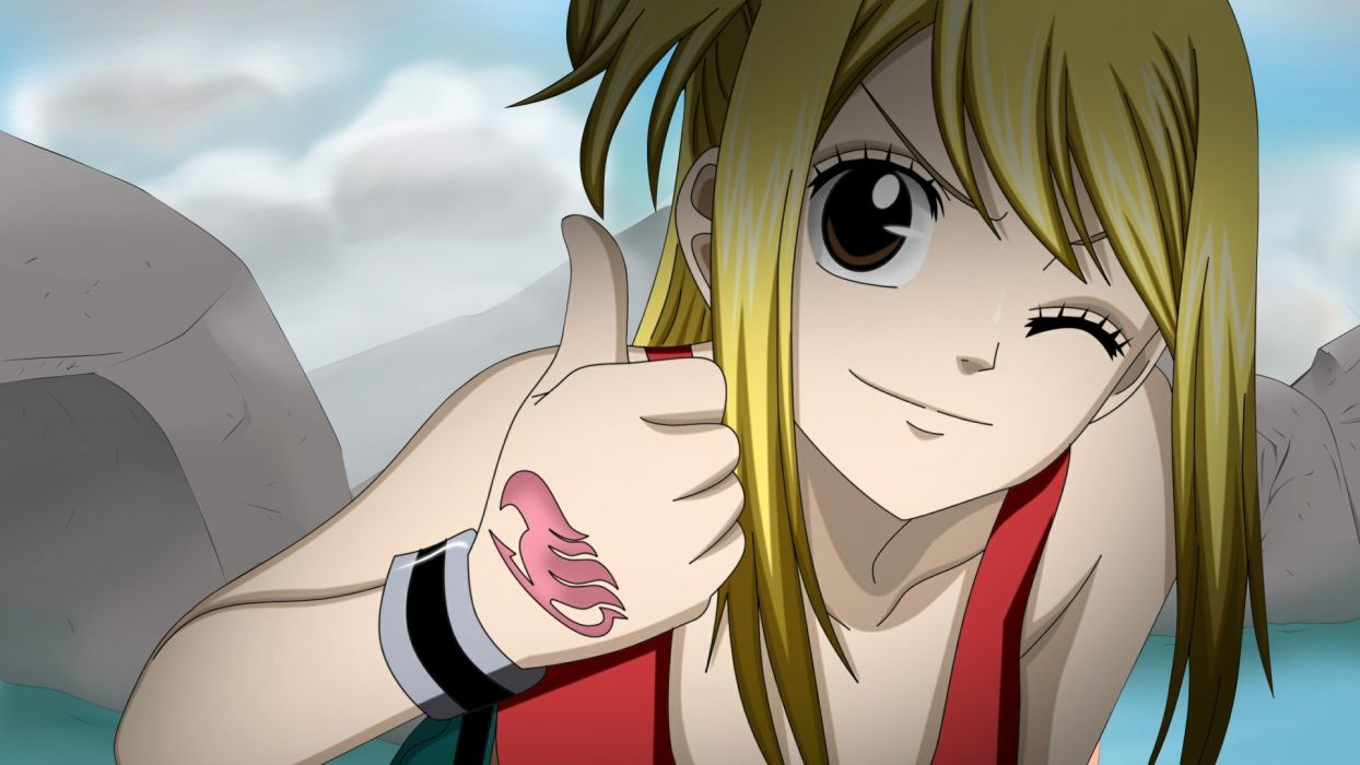Fairy tail Lucy wallpaper