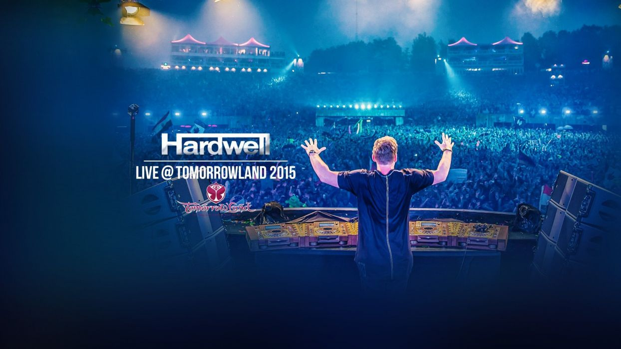 DJ Hardwell - Live @ Tomorrowland 2015 wallpaper