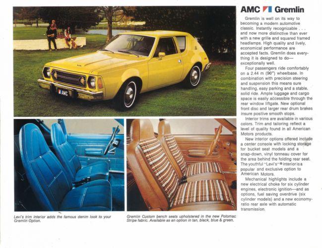 AMC GREMLIN muscle classic wallpaper