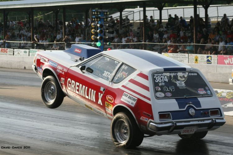 AMC GREMLIN muscle classic custom hot rod rods drag race racing wallpaper