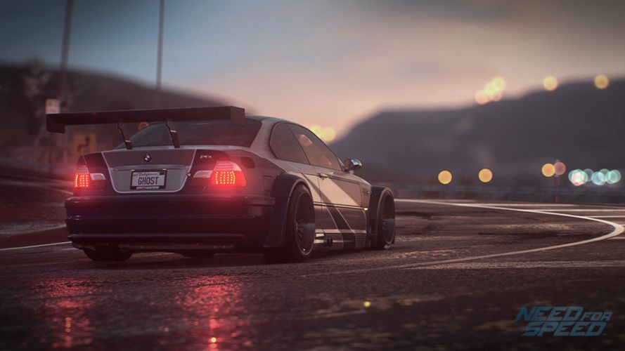 BMW M3 E46 (GTR) - Need-for-Speed 2015 wallpaper