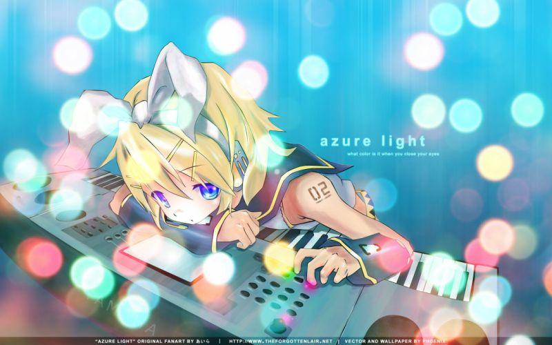 Vocaloid Len Kagamine wallpaper