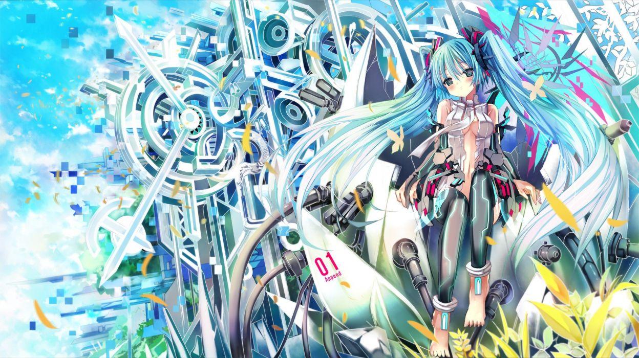 Vocaloid Miku Hatsune wallpaper