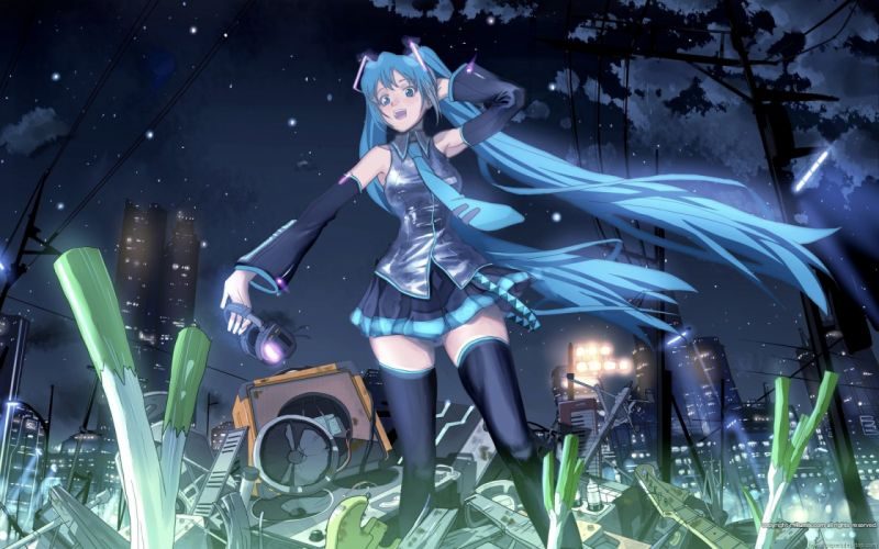 Vocaloid Miku Hatsune wallpaper
