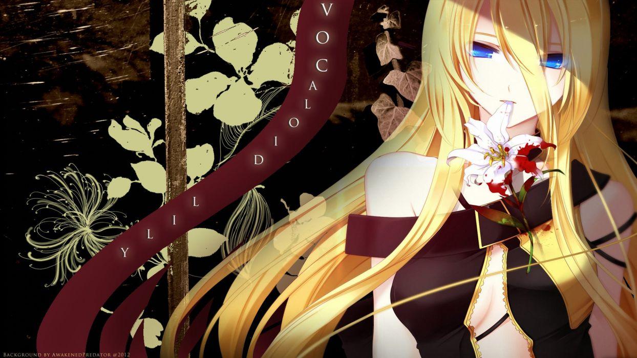 Vocaloid Lily wallpaper
