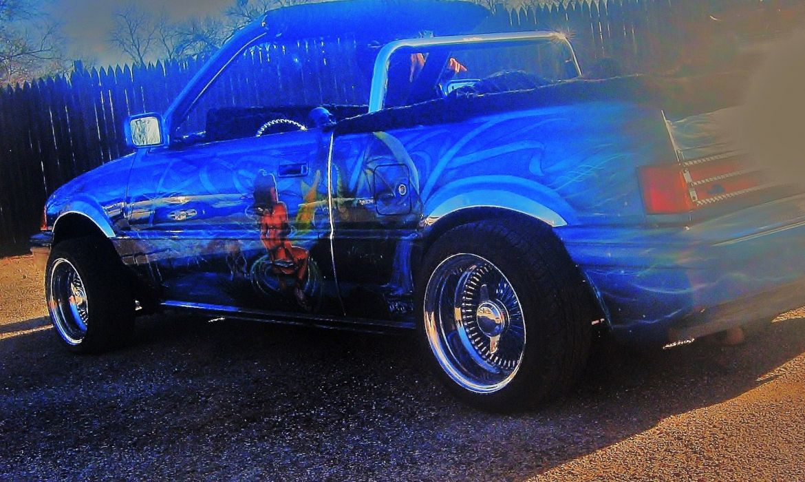 LOWRIDER custom tuning pickup truck wallpaper