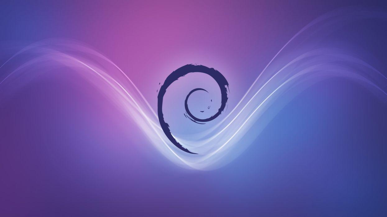 Debian Stream wallpaper