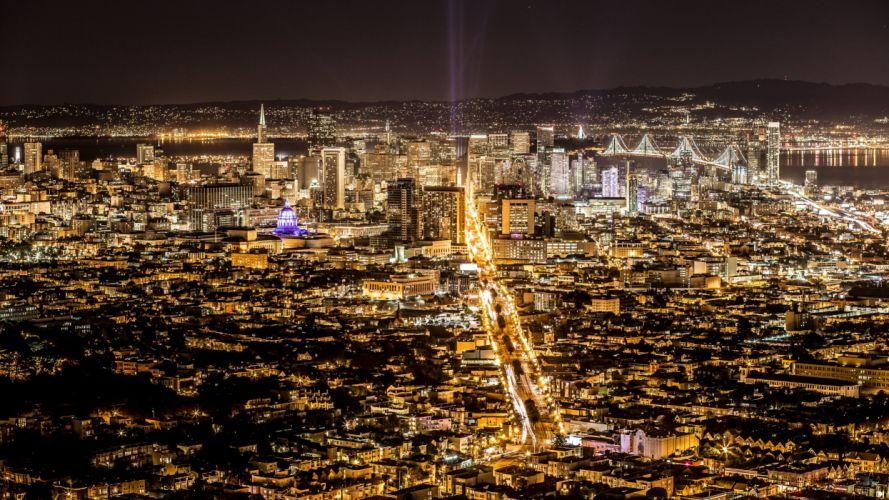 Panorama City USA San Francisco wallpaper