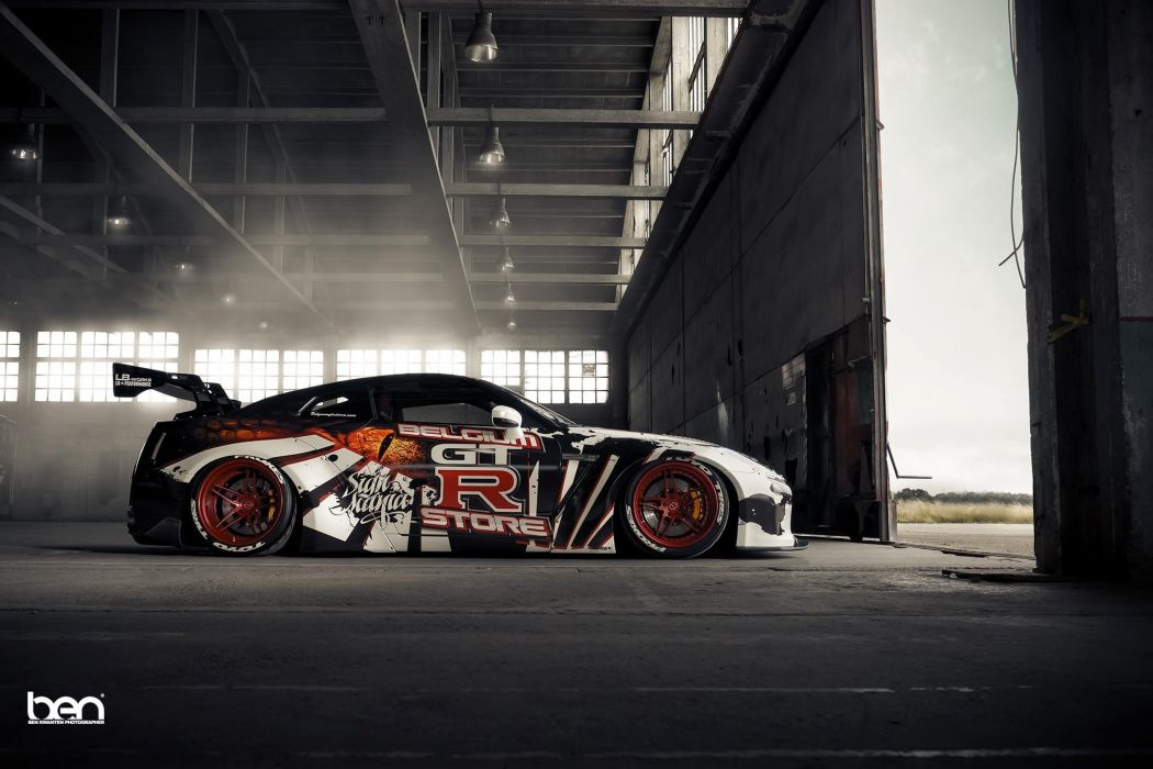 Liberty Walk Nissan Gt R Cars Coupe Modified Wallpaper 2000x1333