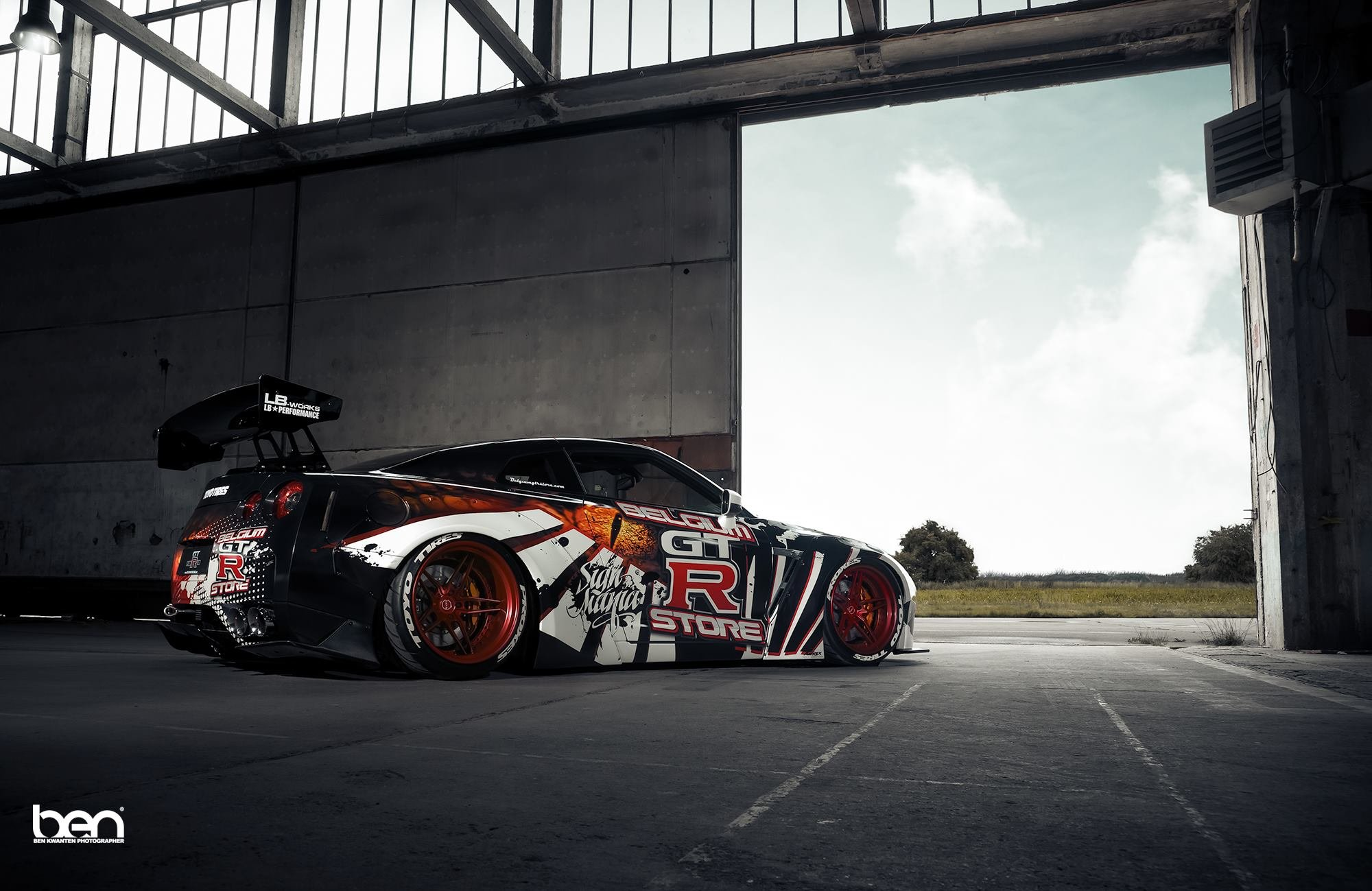 Liberty Walk Nissan Gt R Cars Coupe Modified Wallpaper