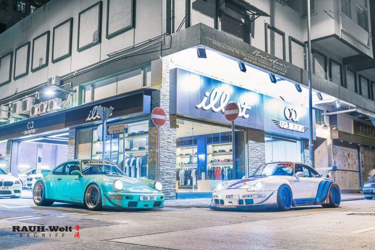 Brixton Forged Wheels RWB Porsche 993 cars wallpaper