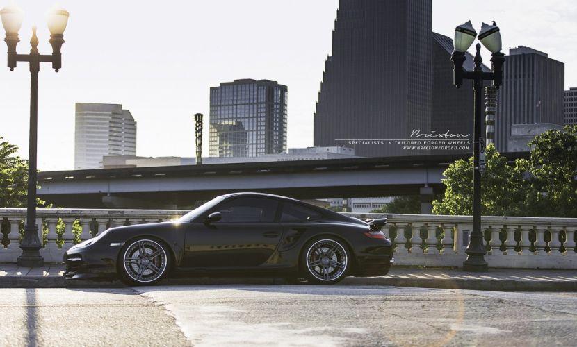 Brixton Forged Wheels Porsche 997 Turbo cars wallpaper