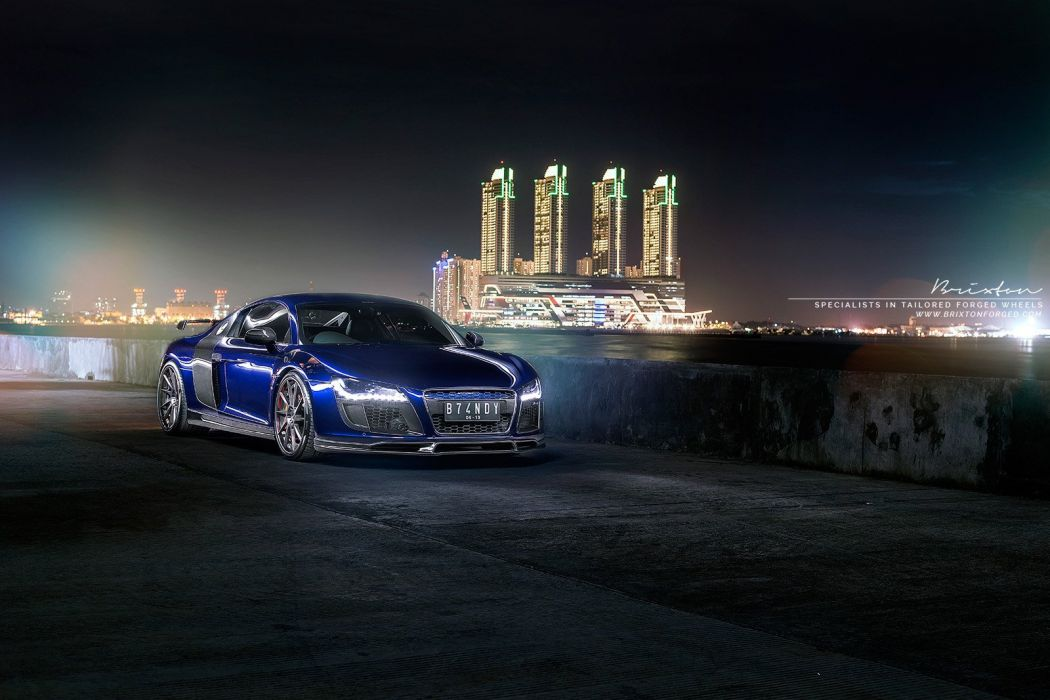 Brixton Forged Wheels audi-r8 coupe cars wallpaper
