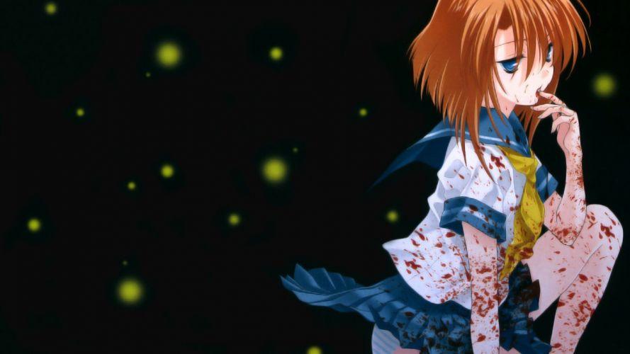 Higurashi no naku koro ni Higurashi when they cry Rena wallpaper