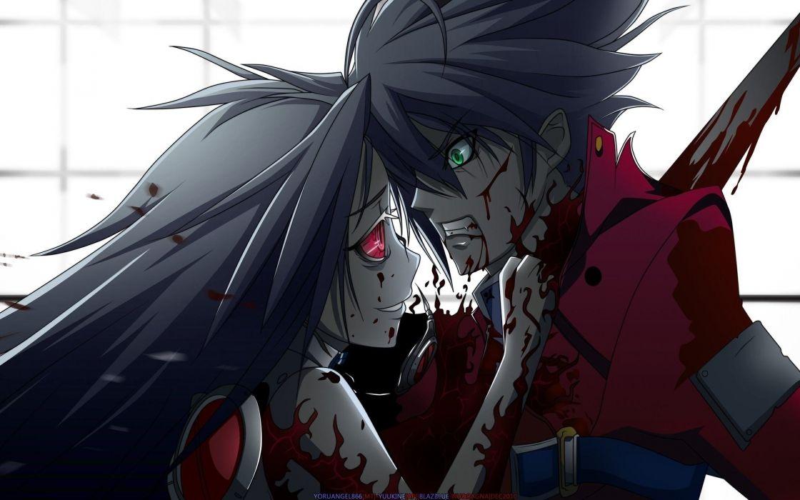 Bloody Anime wallpaper