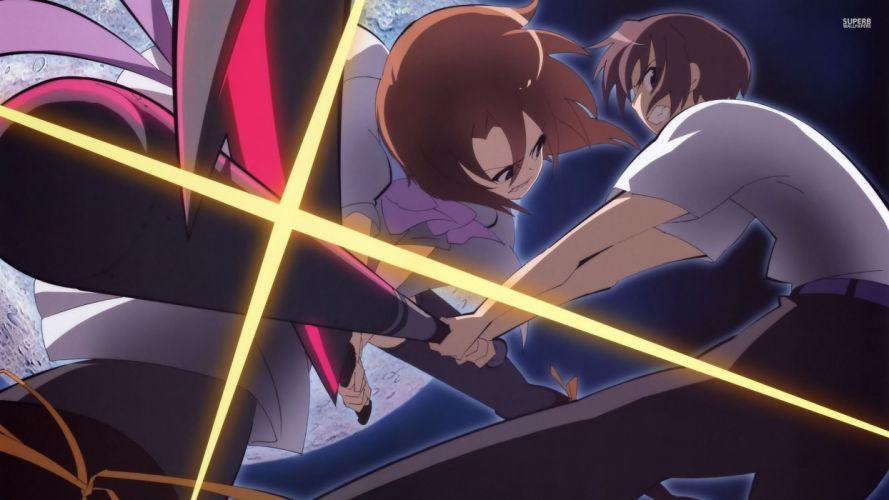 Higurashi no naku koro ni Higurashi when they cry Rena and keiichi wallpaper