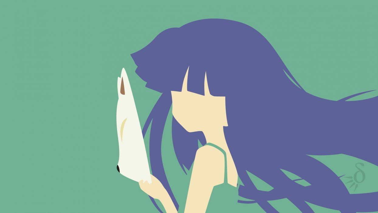Higurashi No Naku Koro Ni Higurashi When They Cry Rika Wallpaper