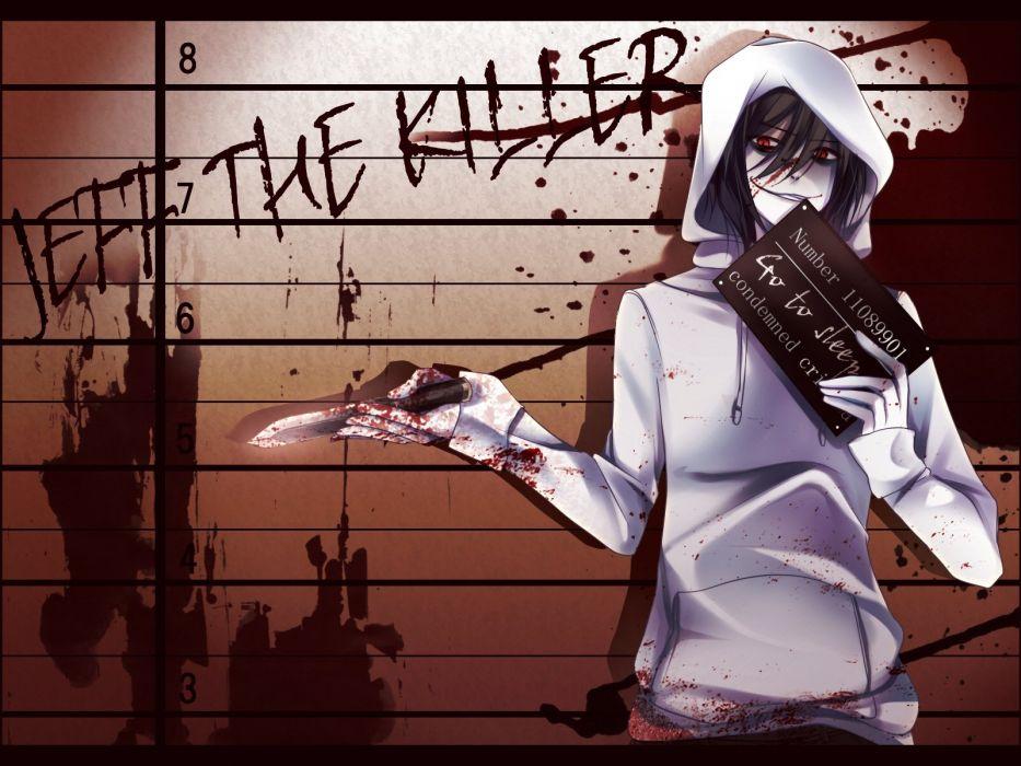 Jeff the killer anime wallpaper