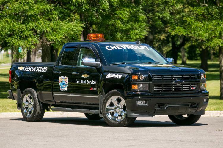 2015 Chevrolet Silverado LTZ Z71 Double Cab Rescue Squad 4x4 race racing pickup truck wallpaper