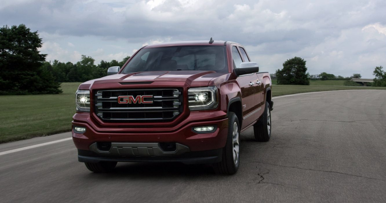 2016 GMC Sierra All Terrain 1500 Double Cab pickup truck wallpaper