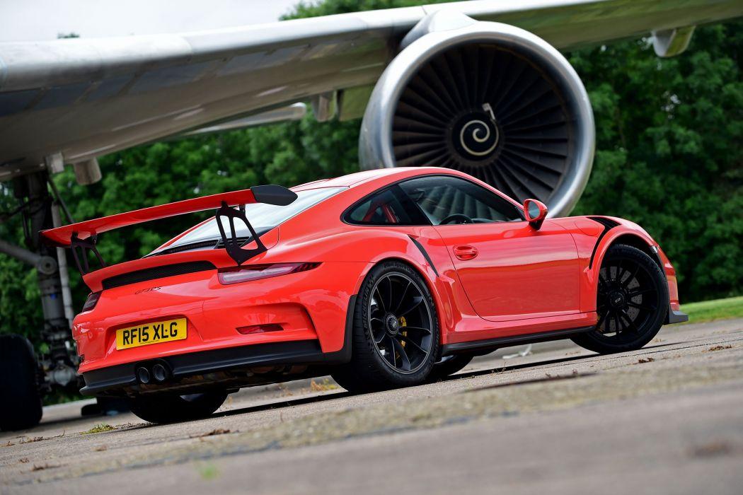 2015 Porsche 911 GT3 R-S UK-spec 991 wallpaper