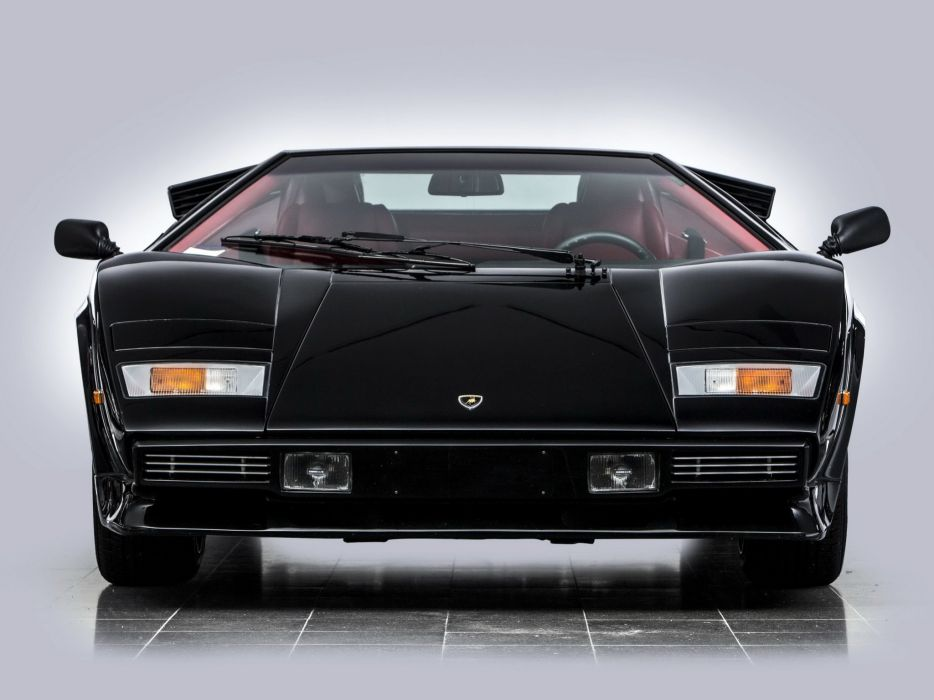 1985 Lamborghini Countach LP500 S supercar wallpaper