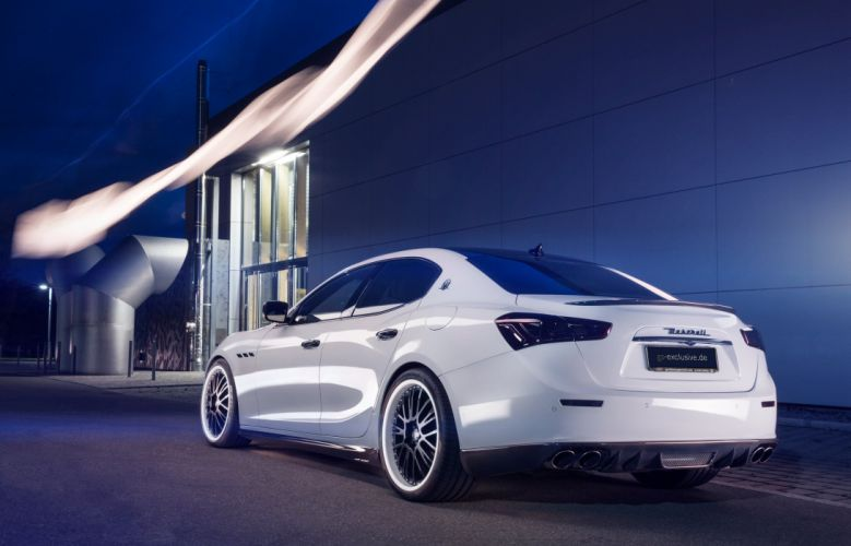 2015 GS-Exclusive Maserati Ghibli Evo tuning wallpaper