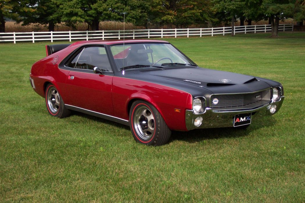AMC AMX muscle classic custom hot rod rods d wallpaper