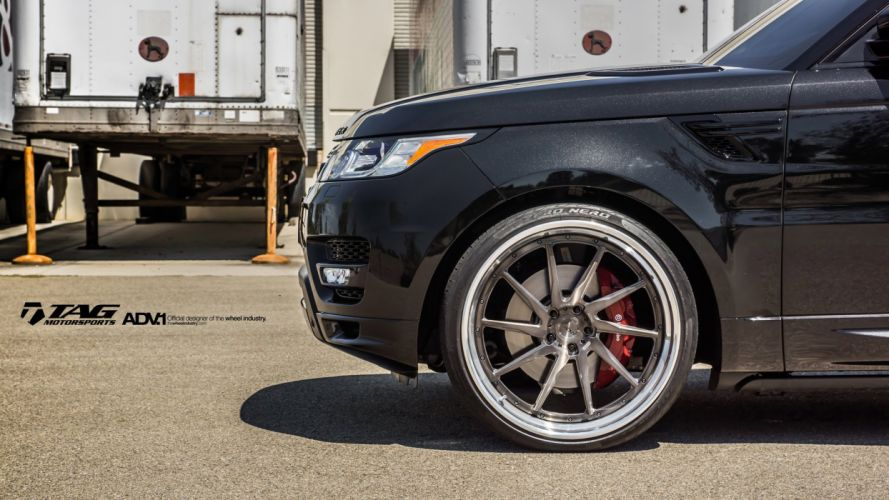 ADV1 WHEELS GALLERY RANGE ROVER SPORT cars suv wallpaper
