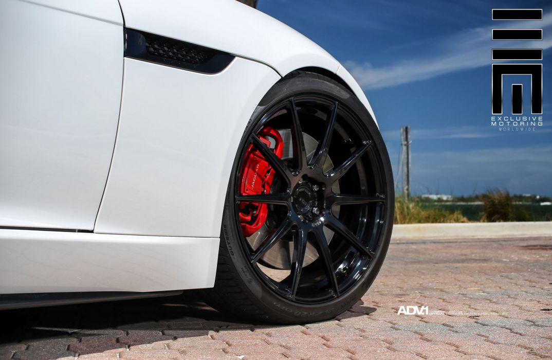 ADV1 WHEELS GALLERY JAGUAR F-TYPE cars convertible wallpaper