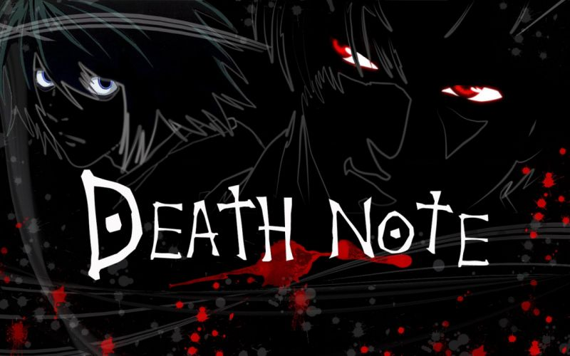 Death note Light and Lawliet wallpaper