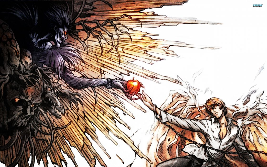 Death note Light and Ryuk wallpaper