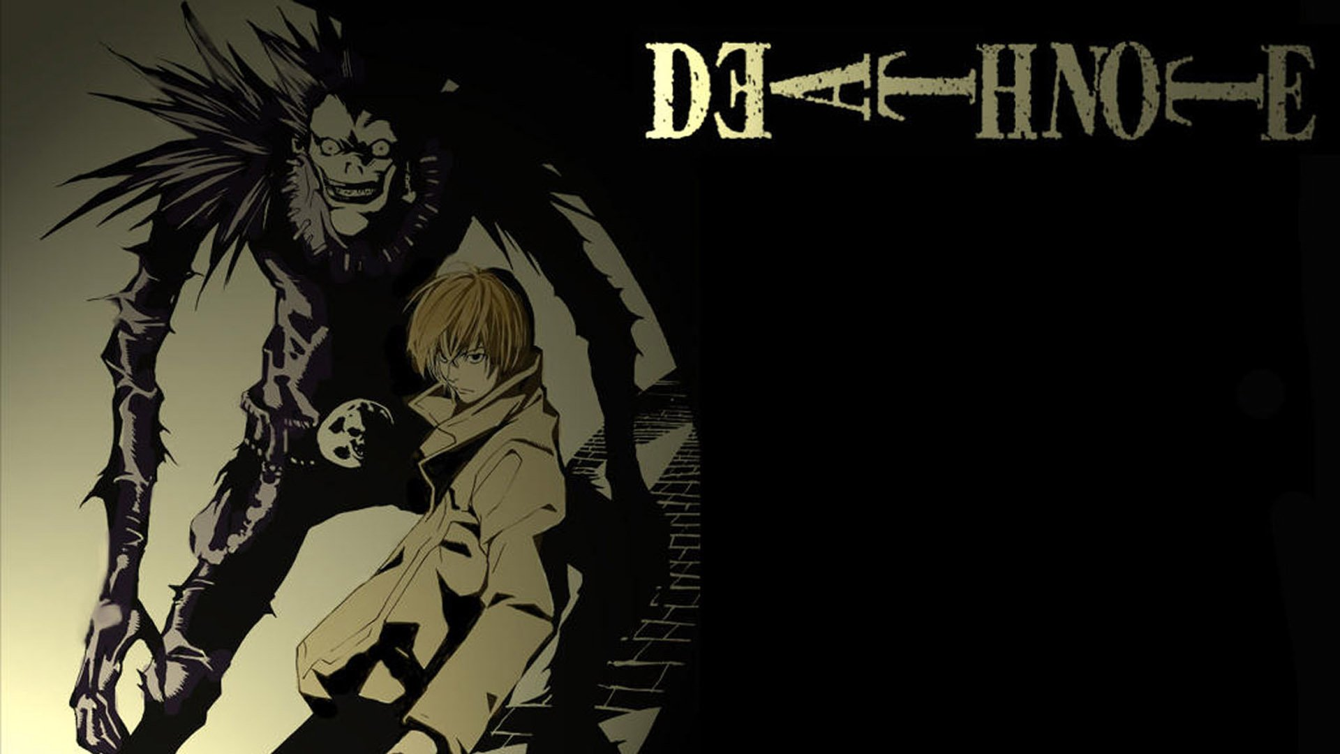 Death note Light and Ryuk wallpaper | 1920x1080 | 788139 ...